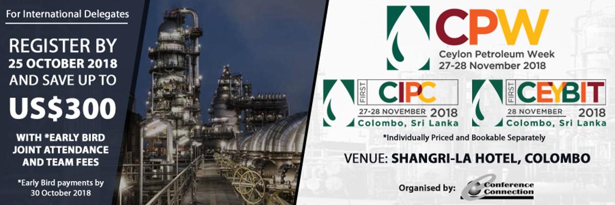 Ceylon International Petroleum & Gas Conference 2018 (CIPC) | Ceylon Bitumen Conference 2018 (CEYBIT)