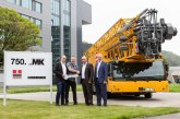 750th Liebherr mobile construction crane goes to Heros