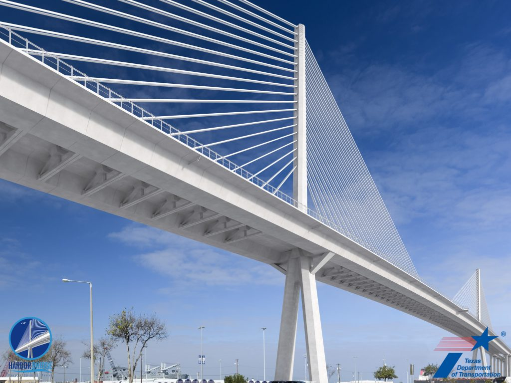 Austin-based pavement engineering firm The Transtec Group provided pavement design expertise to Flatiron-Dragados, LLC regarding the new Harbour Bridge project in Corpus Christi, Texas.