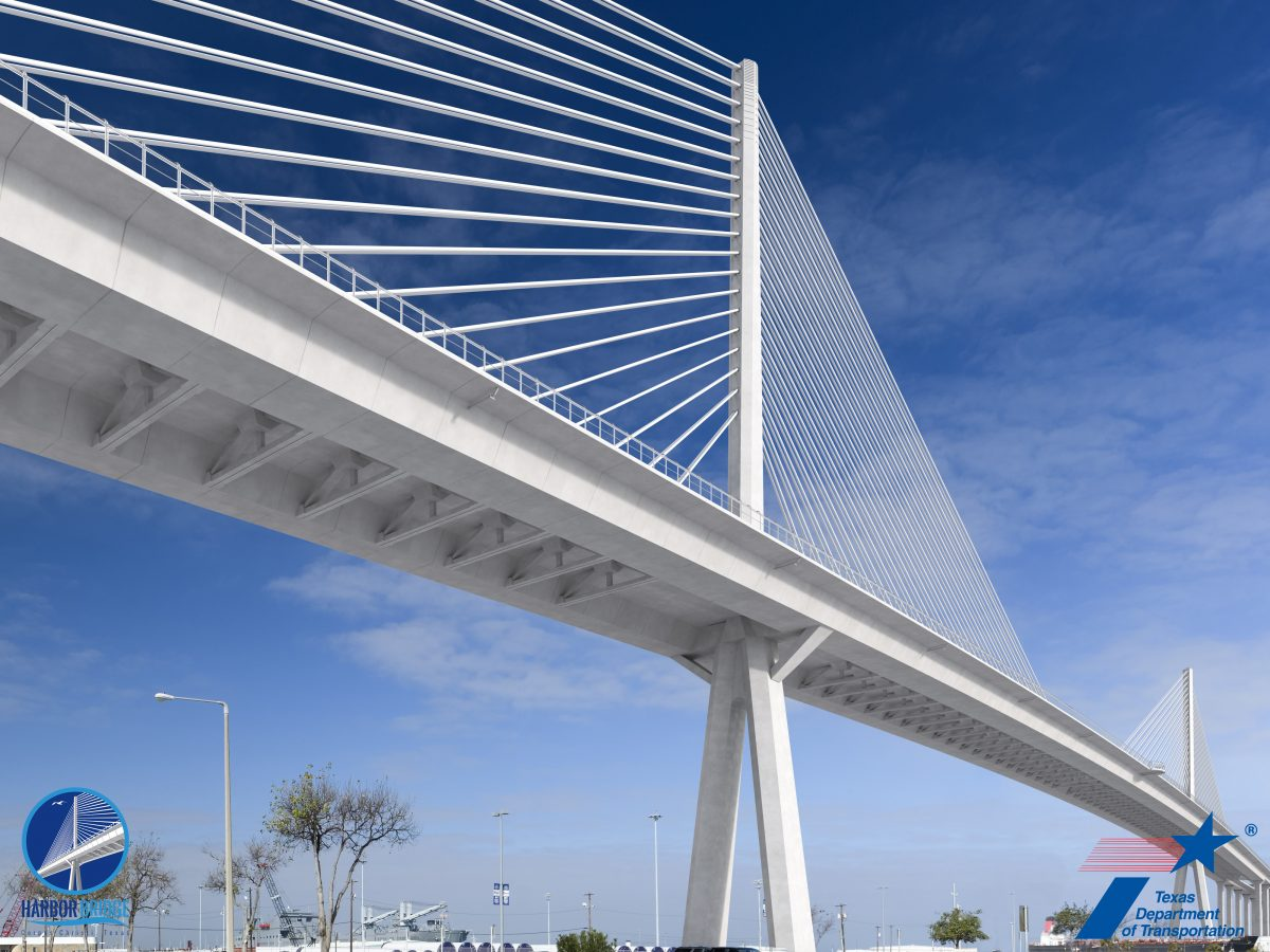 Transtec Group provides innovative pavement design for Port Corpus Christi bridge