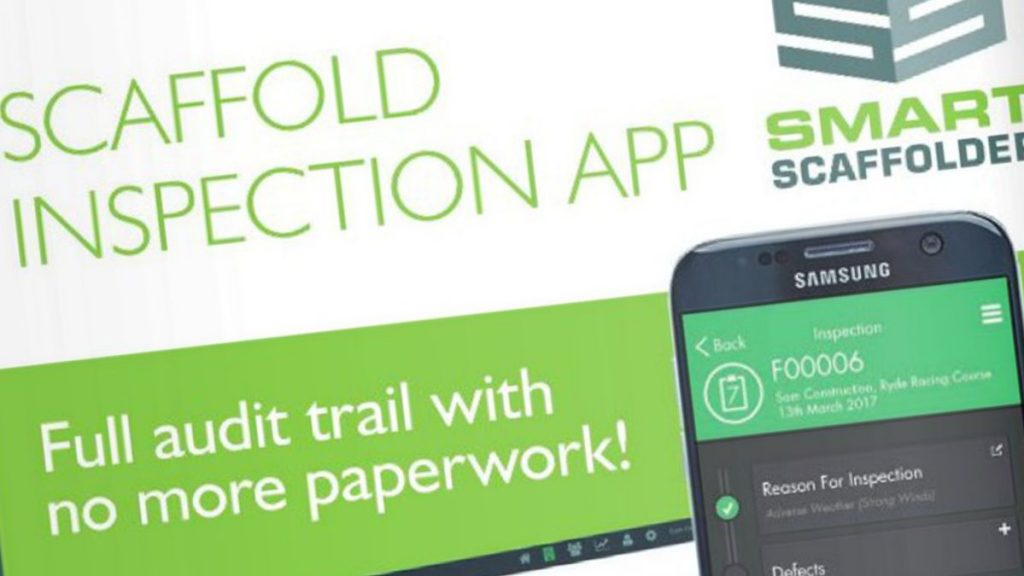 SMART Scaffolder – the access and scaffolding industry's leading professional software solution – has launched the latest update of its innovative SMART Inspector and SMART Handover apps.