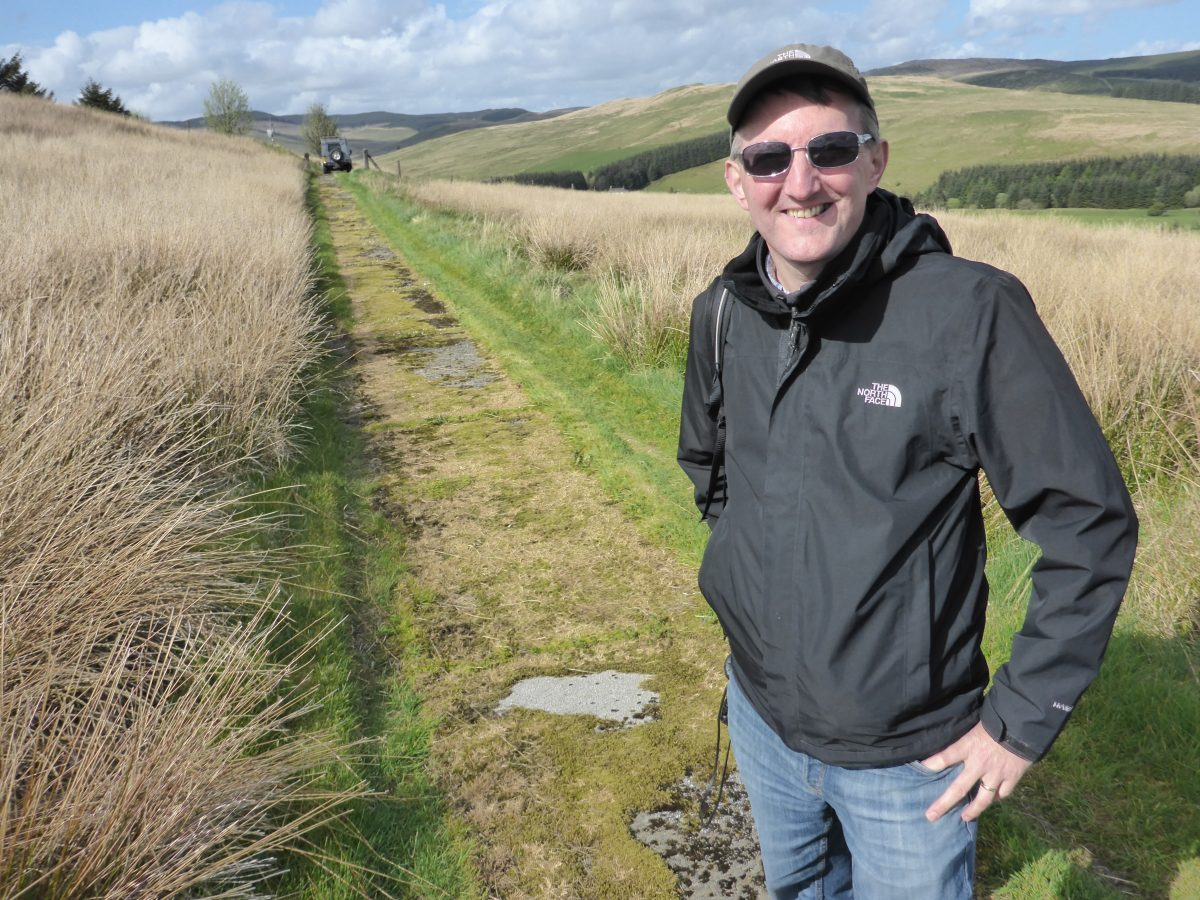 Expert geologist, Clive Mitchell is the Communications Team Leader at the British Geological Survey