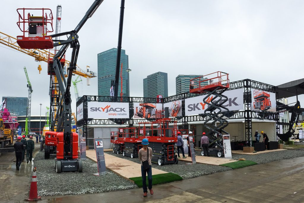 Skyjack will showcase their fleet favourites at Bauma China