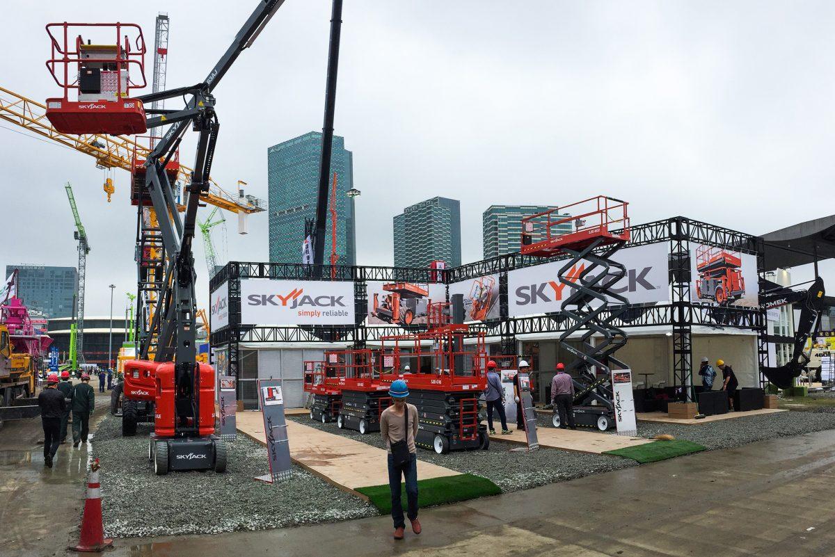 Skyjack will showcase their fleet favourites at Bauma China