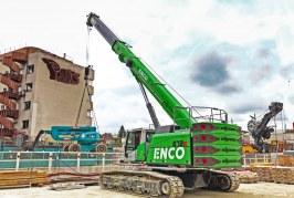 SENNEBOGEN telescopic crane continues to impress at Grand Paris Express construction site