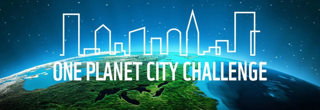 One Planet City Challenge logo