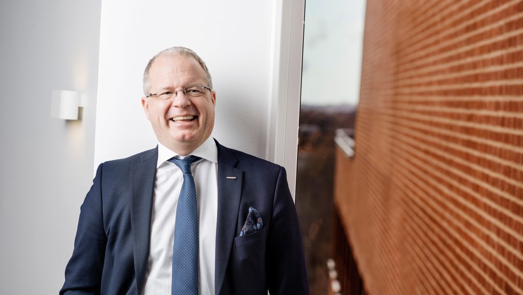 Volvo Group President and CEO Martin Lundstedt named Leader of the Year 2018