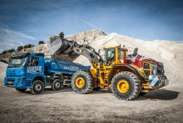 Volvo takes over as Yorkshire Quarry's prime mover as production is ramped up