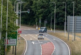 Clearview traffic innovations improve safety and traffic flow at hospital junction