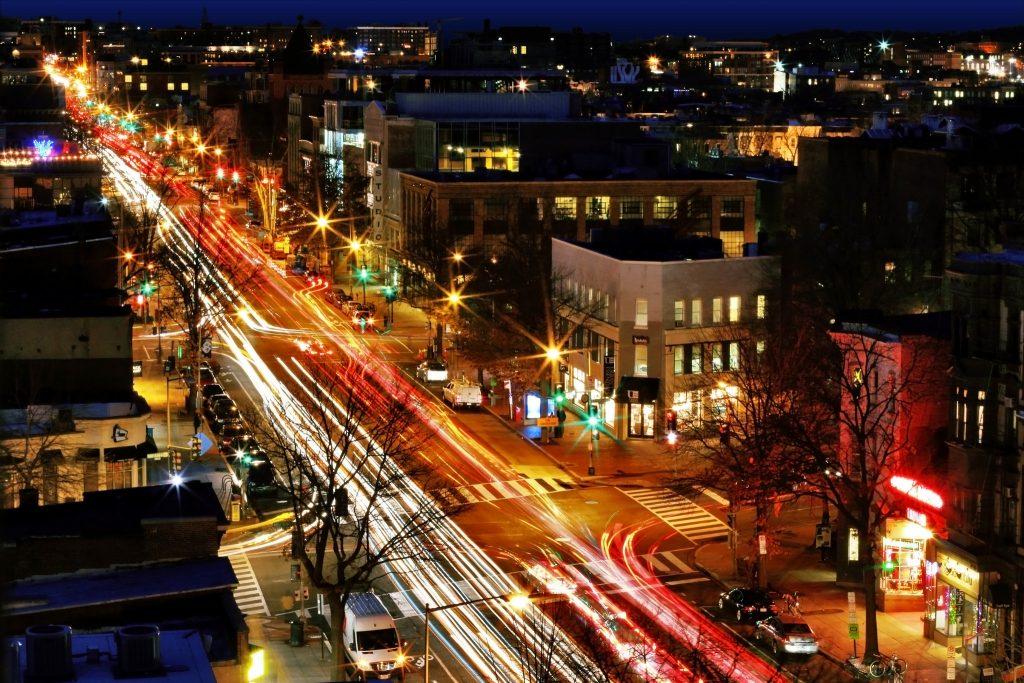 City Lights - Photo by Aram Vartian