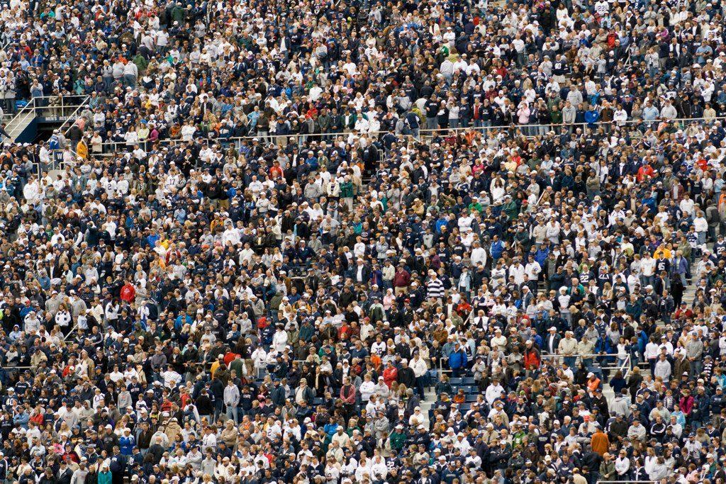 Crowd - Photo by Caitlin Regan