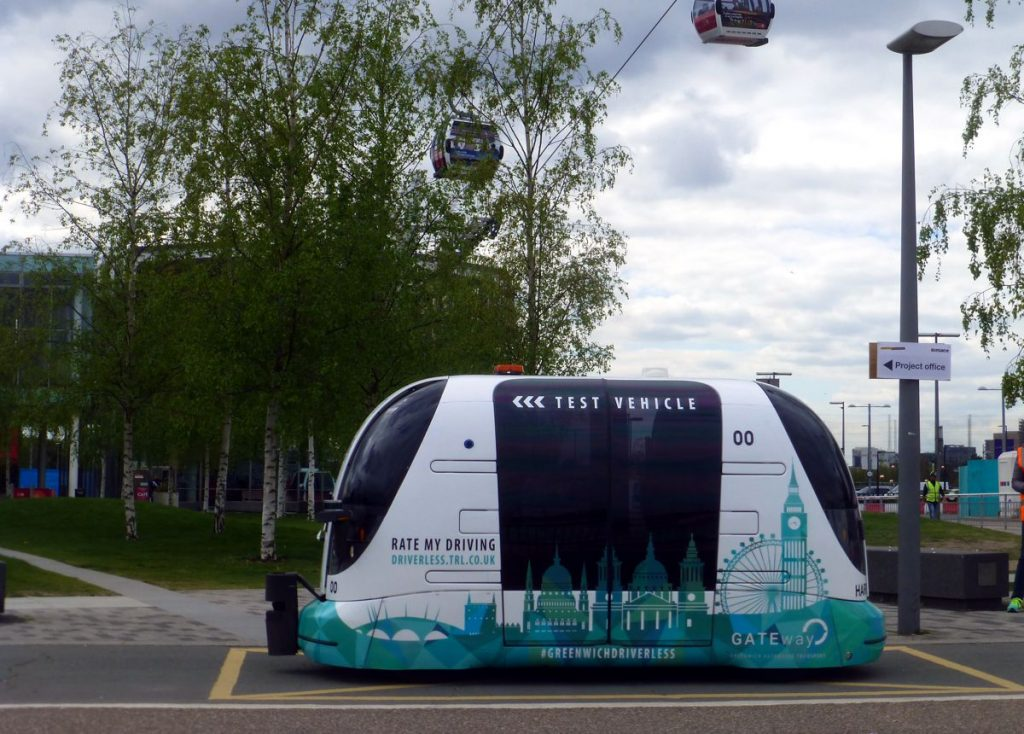 Driverless Pod - Photo by City Transport Info