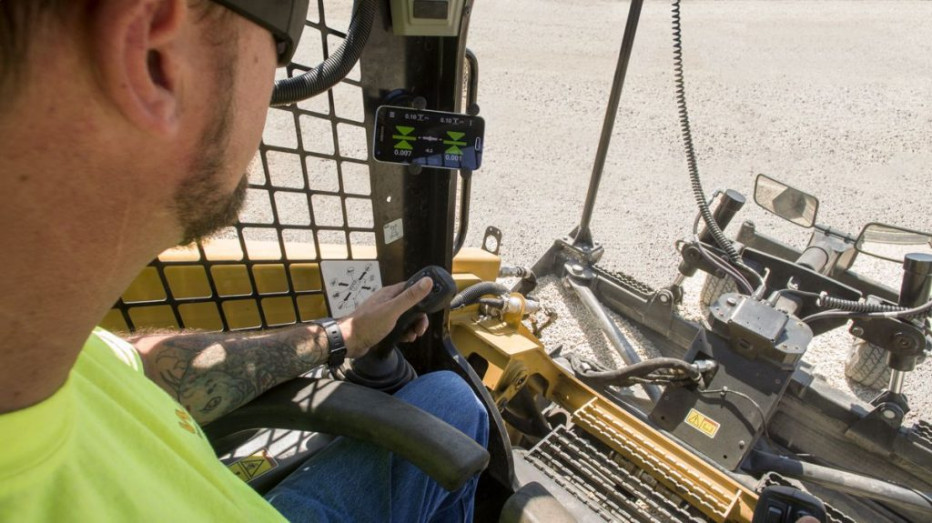 New Trimble Earthworks GO! Grade Control for Compact Machine Grading Attachments