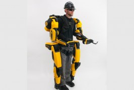 Sarcos overcomes major obstacle to deployment of full-body, powered industrial exoskeletons