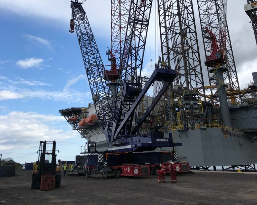 ALE and OM Heavylift expand to provide full service of port operations at Port of Dundee