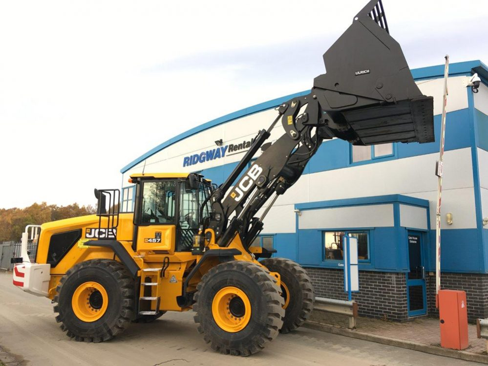 Ridgway Rentals adds the new JCB 457 Wastemaster to their hire fleet