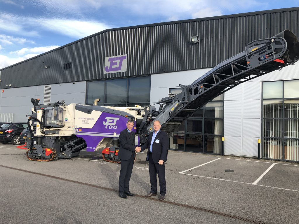 100 is the magic number as Jet Plant Hire invests in Wirtgen road planer