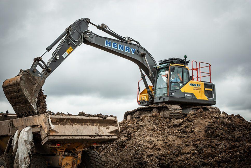 20 tonne Volvo EC220E Excavator for Michael Henry