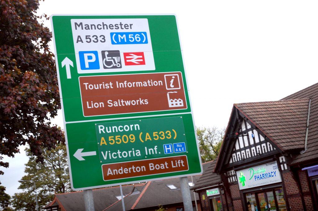 M56 Sign - Photo by Kitchen Kraft