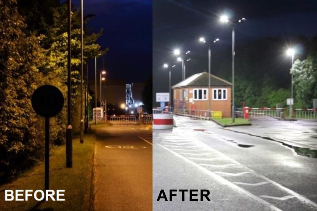 Medusa LED Streetlights at forefront of Design and Technology