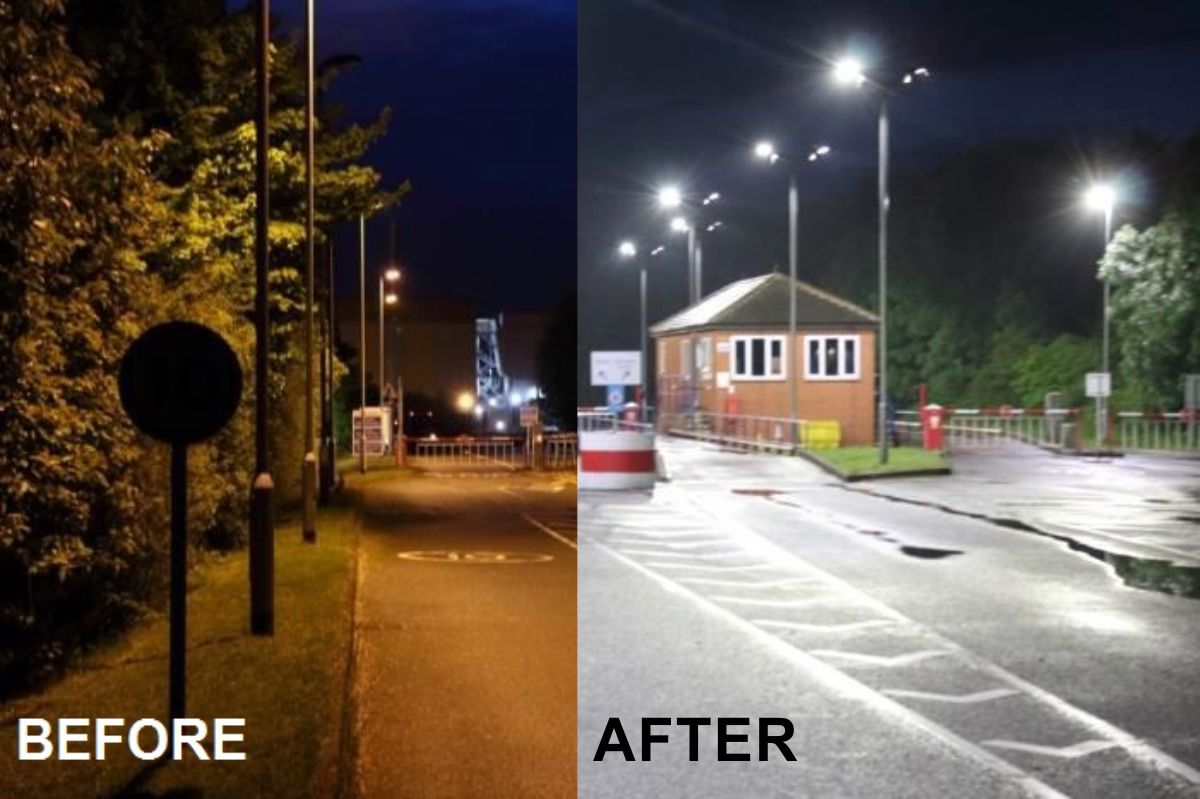 Medusa LED Streetlights at forefront of Design and Technology