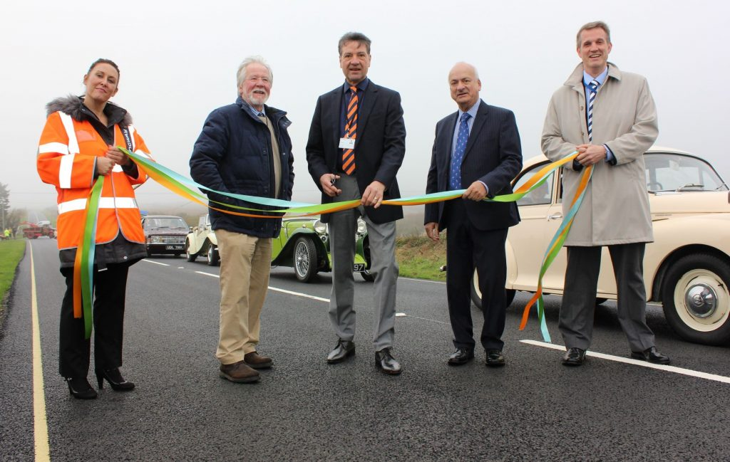 Ringway Island Roads upgrades iconic Military Road on the Isle of Wight