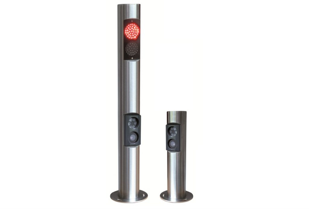 People and vehicle access control specialist Nortech is now offering elegant stainless steel bollards to house the Nedap ANPR cameras.