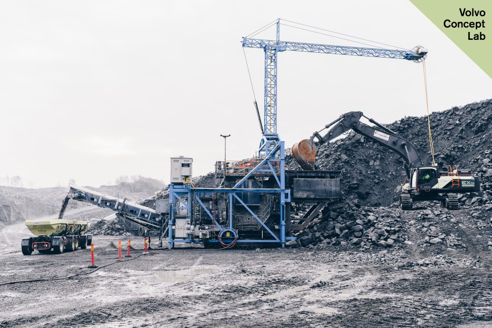 Volvo CE and its customer Skanska have recorded groundbreaking results at the Electric Site