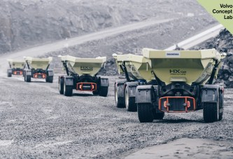 VolvoCE and Skanska's electric quarry reduce carbon emissions by 98 percent