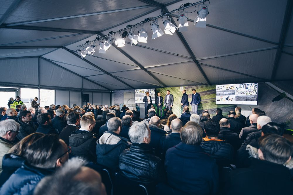Volvo CE and Skanska revealed the results from the Electric Site research project in front of customers, dealers and the media