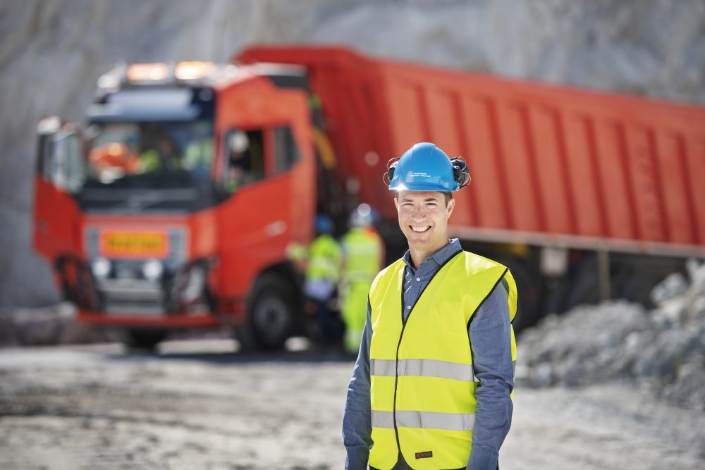 Volvo Trucks delivers autonomous transport solution to limestone quarry in Norway
