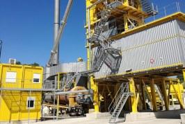 Ammann asphalt plant retrofit protects the environment