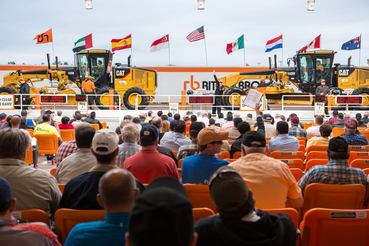 Ritchie Bros. sees record attendance for US$56+ million auction in Texas