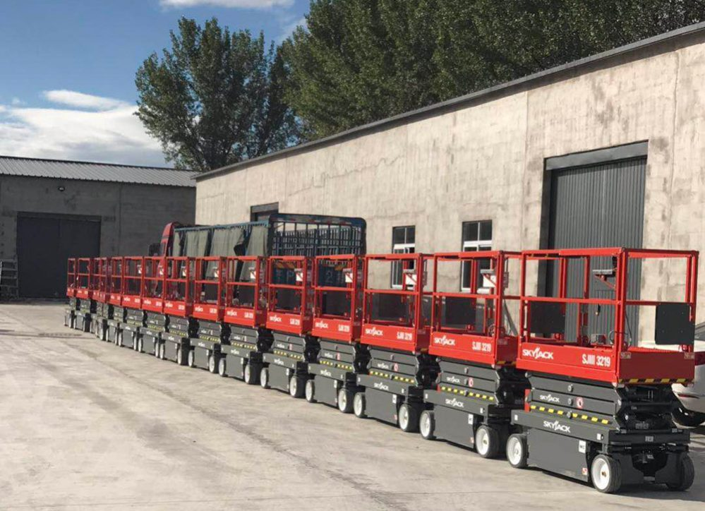 Skyjack's top selling Scissor Lifts give Beijing a boost