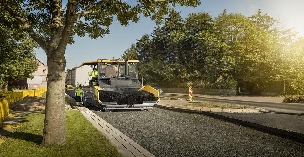 Recycled plastic is added to asphalt mix