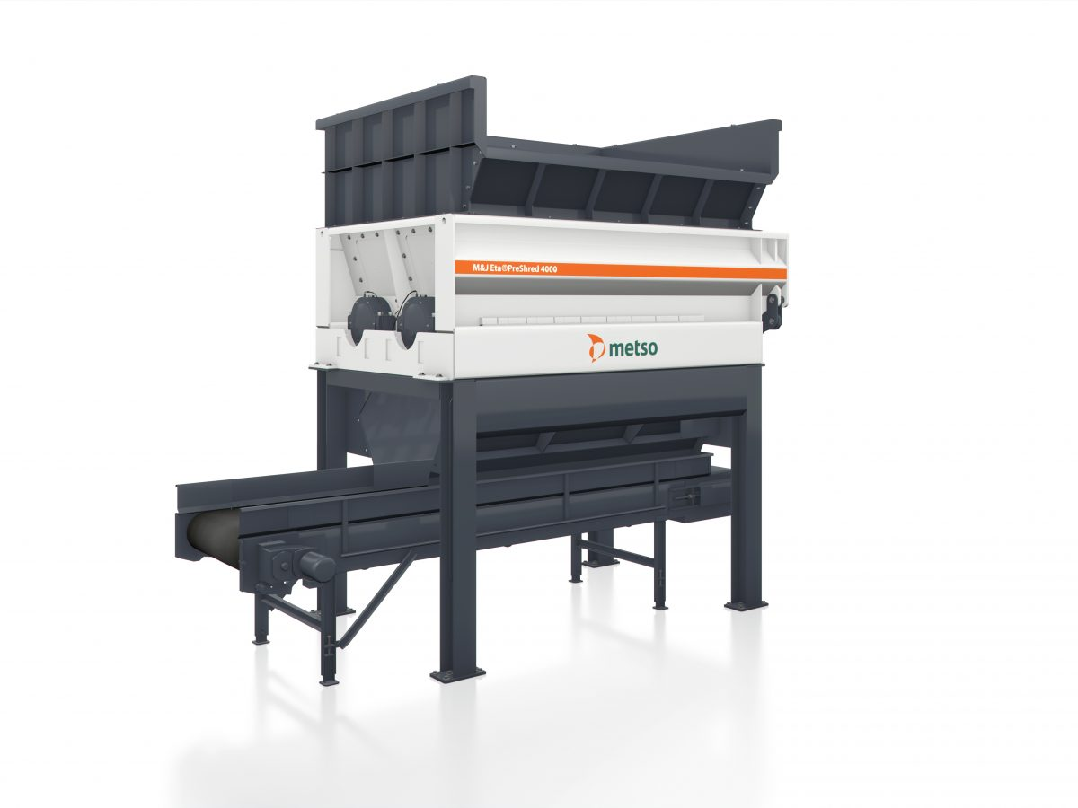 Metso receives orders for seven MJ waste shredders in China
