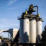 Asphalt Drum Mixers offers Crane-Set and Self-Erect Asphalt Storage Silos