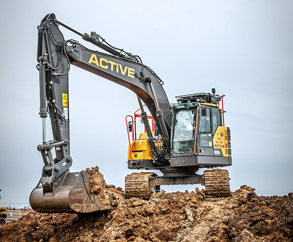 First Volvo Excavators arrive at Active Plant