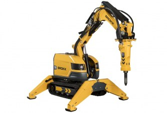 New Brokk 170 offers 15 percent more power in compact build