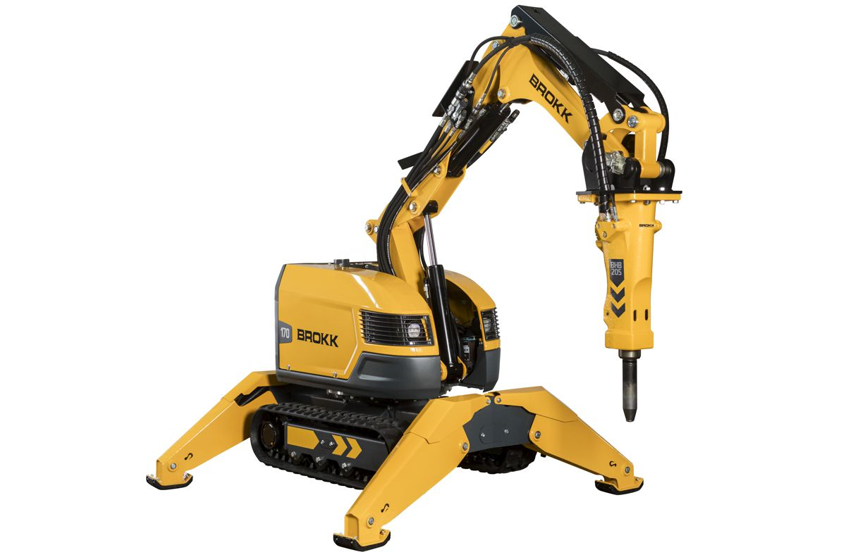Brokk introduces the Brokk 170 with 15 percent more power than its predecessor.