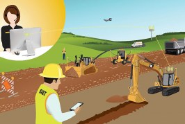 New Cat Remote Services for diagnostics and improved jobsite efficiency
