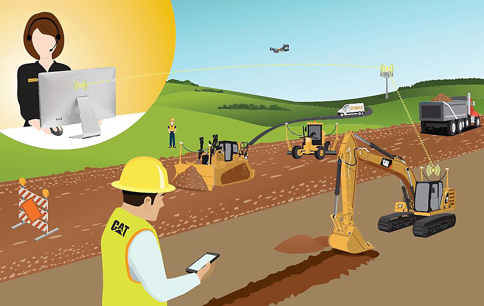 New Cat Remote Services reduce diagnostics and improve jobsite efficiency