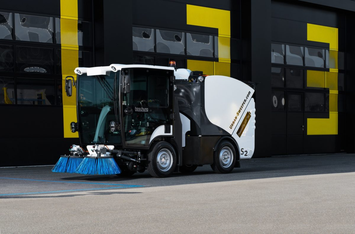 Bunce wins their first Council Tender in Nottingham for electric road sweepers
