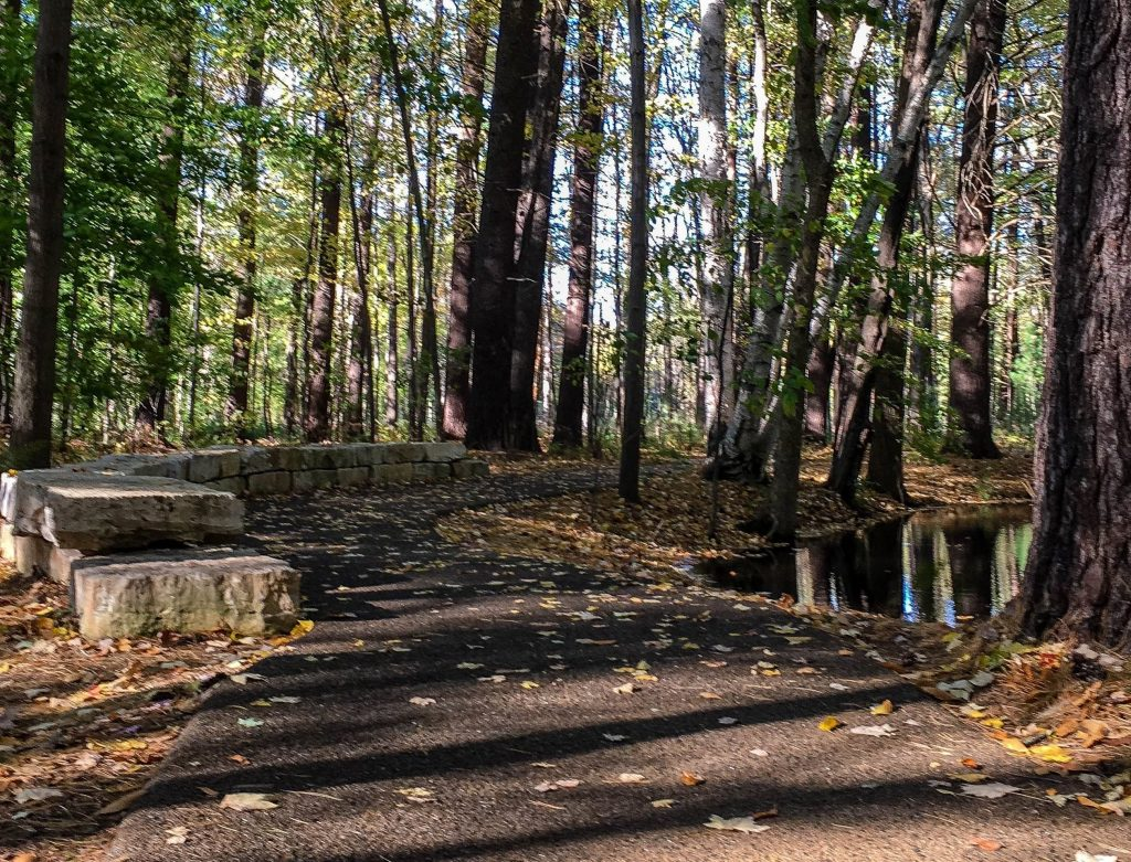 Whiting Forest of Dow Gardens installs 20,000 Sq Feet of Porous Pave Permeable Path