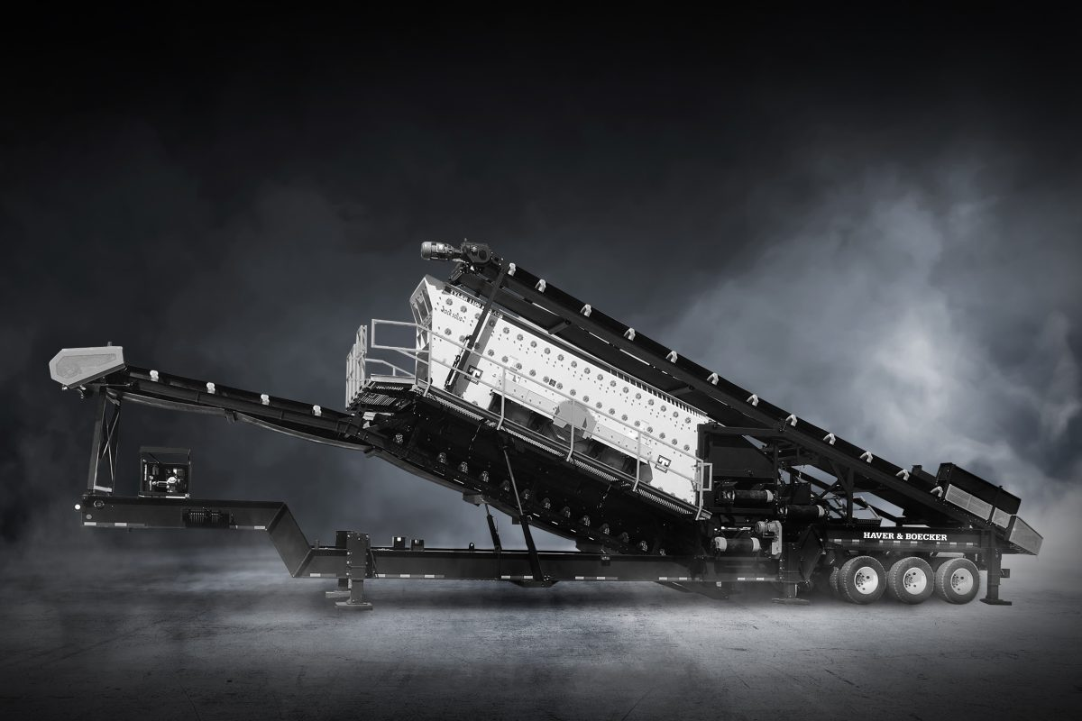 Haver and Boecker launch F-Class Portable Plant for fast setup and longer wear life