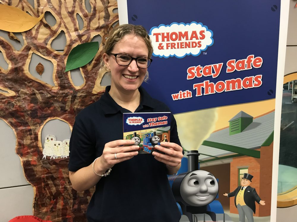 Network Rail launches Thomas the Tank Engine book to teach children railway safety