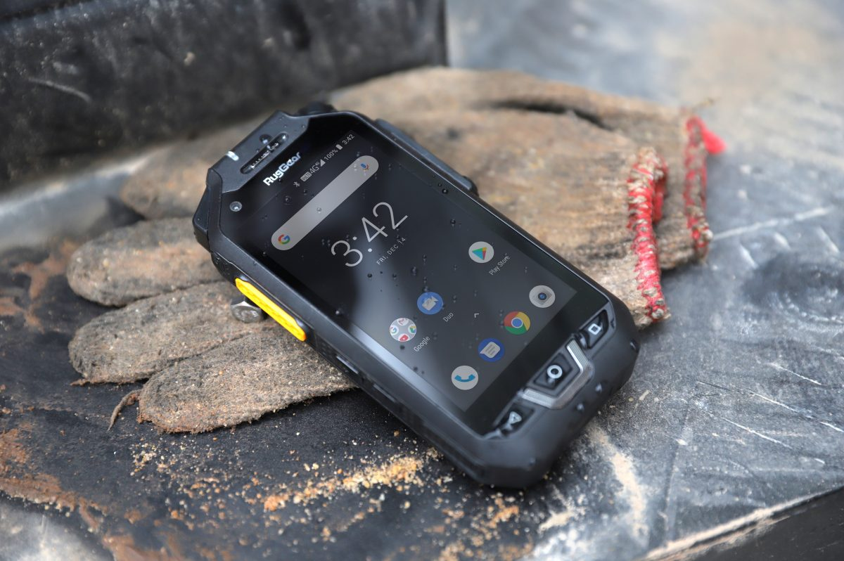 RugGear launches walkie talkie inspired smartphone for communication in harsh worksites