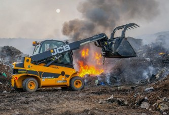 JCB Teletruk enlisted for fire fighting and emergency rescue operations