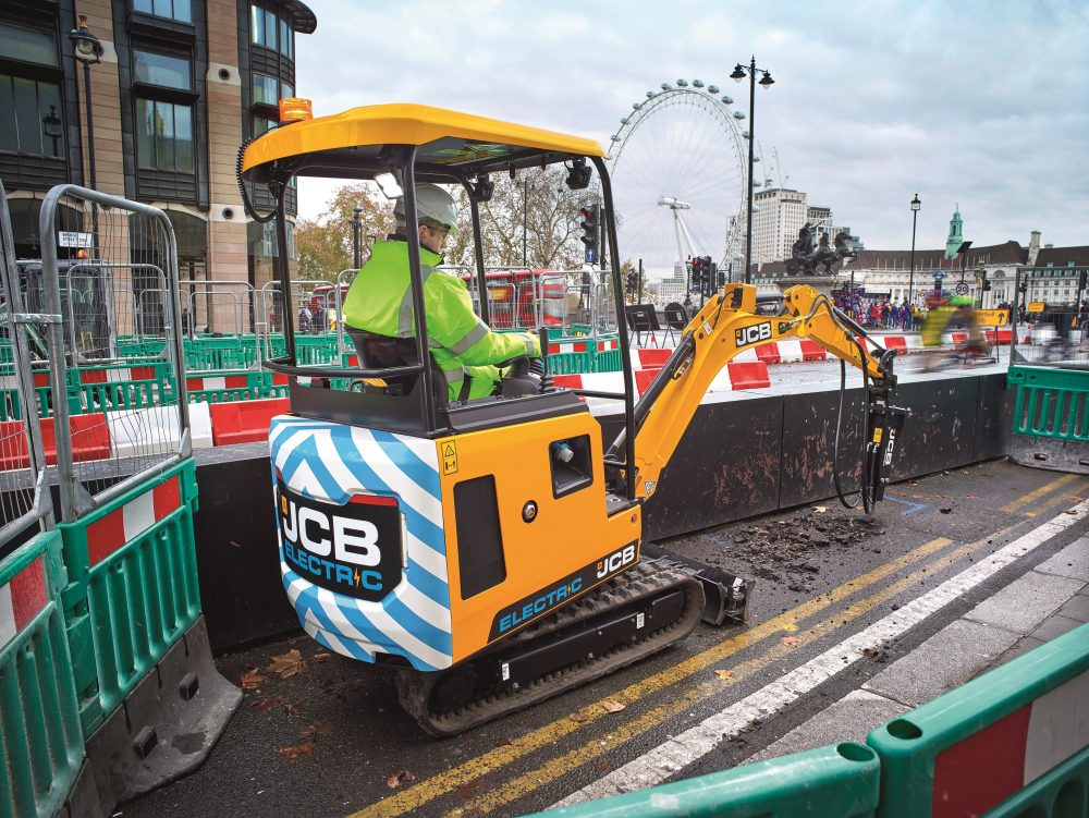 Electrification of construction equipment set to continue