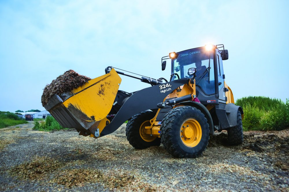 John Deere introduces next generation of K-Series Compact Wheel Loaders